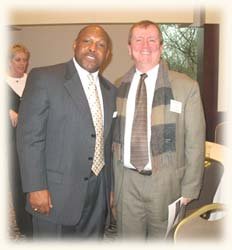 Chuck Wolfe with OSU Football great Archie Griffin